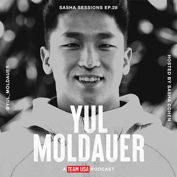 Team USA Podcast Sasha Session Yul Moldauer