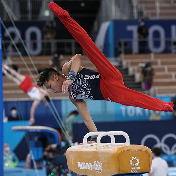 Yul Moldauer Shines at Olympics on Pommel Horse Gymnastics