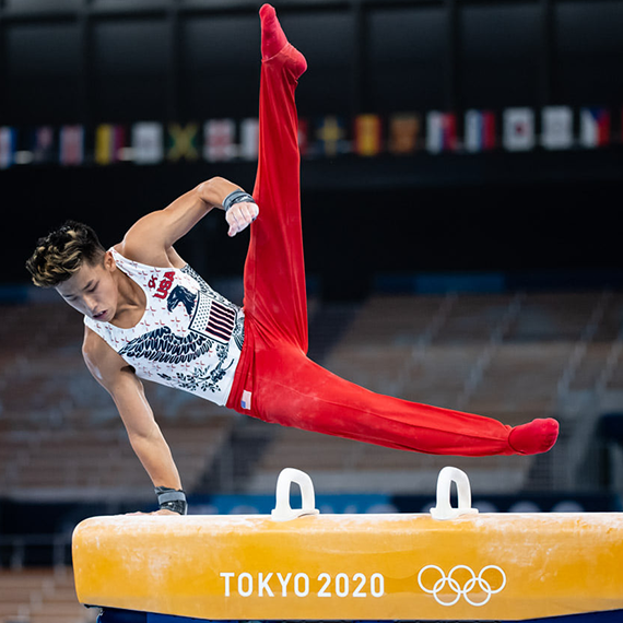 Yul Moldauer Olympian Team USA Shines