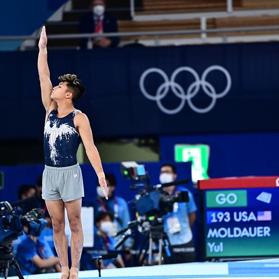 Yul Moldauer Olympian Team USA